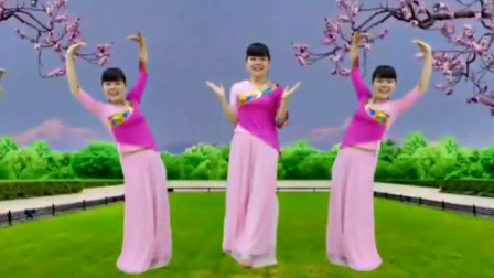 明天会更好广场舞《爱不停息》柔美抒情舞蹈教学
