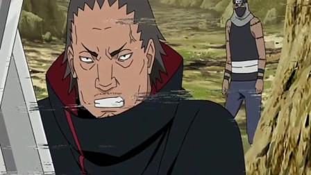 火影忍者:晓组织混的最惨的一个,因为脾气不和,被角度杀死