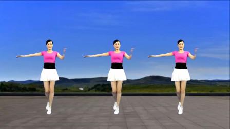 高原情歌广场舞《光芒》冉冉升起在东方,嘹亮歌声舞好看附分解
