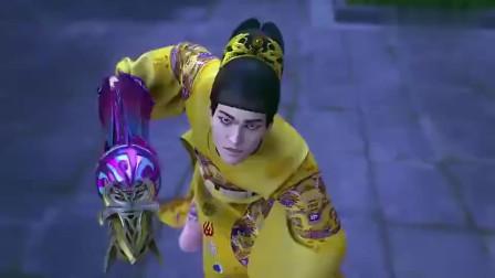 少年锦衣卫袁小棠和小亭子撞上冥火僧,被两招打倒,袁笑之赶到