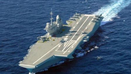 全球二号航母即将诞生,号称战力超山东舰