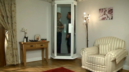 停电也能用的家用小型电梯,安全系数高,家里老人的福音。