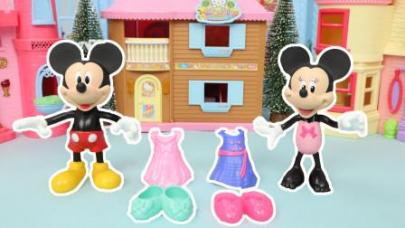 迪士尼玩具米奇幫米妮尋找丟失的服裝