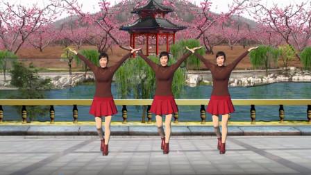 2019年最火的广场舞《不忍看着你伤悲》歌劲舞爆 好听好看 演示: