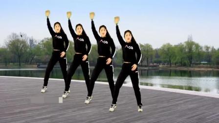 经典舞曲健身舞《男人得有样》唱得超现实,超动感好听!