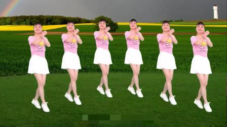 氣質美女廣場舞《妹妹不哭》彈跳廣場舞