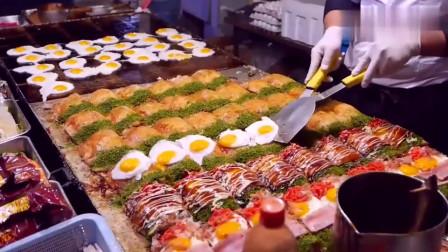 舌尖上的美食:日本夜市小吃,只要你能想到的,这里都有