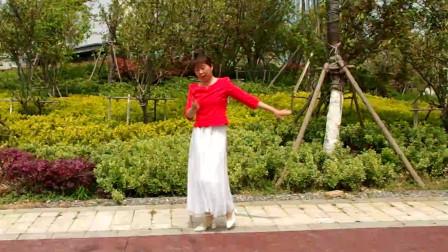 老歌新跳广场舞《军中绿花》,经广场舞