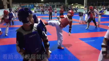 泰国跆拳道竞技专业体校训练