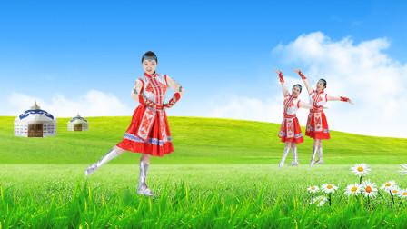 糖豆广场舞课堂《大大的草原》蒙古舞教学