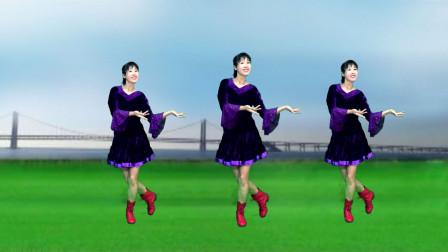 火爆全网的北京小曲《探清水河》直接跟着背面学广场舞