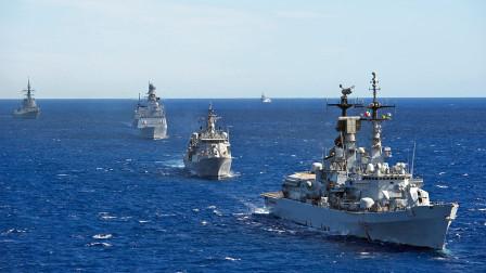 4艘军舰家门口挑衅,俄反舰导弹开机直接锁定