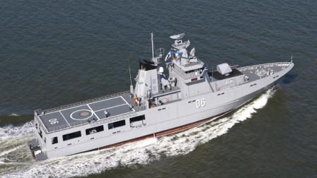 感谢海军节!文莱派最强近海巡航舰来华参阅,否则很难有机会见到!