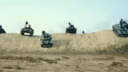 日軍出擊正巧蘇軍來襲,敢死隊撞坦克不可避免韓國電影《登陸之日》片段