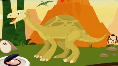 考古学家沙漠挖掘 侏罗纪公园大发现 恐龙骨骼化