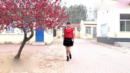 广场舞《小妹甜甜甜》歌曲优雅,舞步简单,快来一起吧