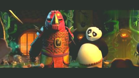 功夫熊猫:阿宝和熊猫爸爸在武器殿玩的不亦乐乎,大家都看?#30423;耍? onerror=