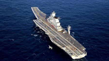 印度海上围堵行动失败,航母返回母港