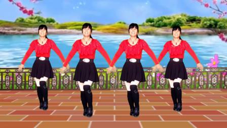 广场舞《中国歌最美》歌曲大气悠扬,舞步简单好看易学