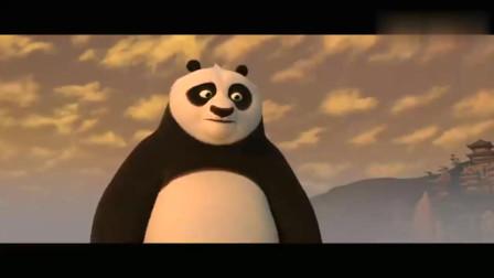 《功夫熊猫》阿宝最终击败了反派孔雀大Boss