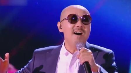 腾格尔翻唱大张伟经典歌曲《倍儿爽》,一张口秒忘原唱,太嗨了!