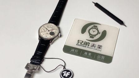 【金子讲表】ZF全新万国葡萄牙七日链年历系列年历葡七,大型商务正装腕表