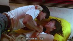 女孩偷渡到香港,被发哥收容,善意的发哥白捡了个大美女