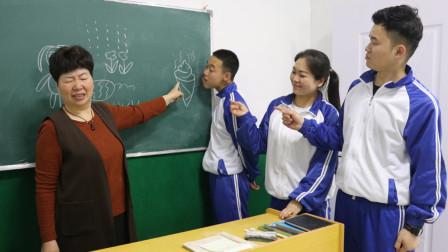 老师让学生画自己喜欢吃的食物,没想到二货的画太罕见了,结局笑死人