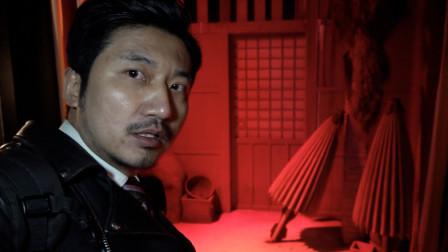 走进日本江户时代鬼屋,中国小伙:你想拿这个吓到我?