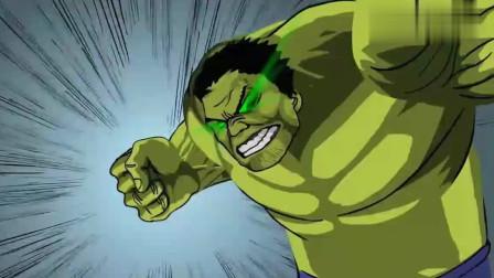 一拳超人:一拳超人竟被绿巨人打断了手臂,这次他彻底的怒了!