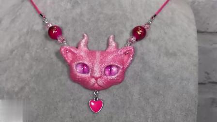 手工制作猫咪头饰品,小仙女的最爱的DIY滴胶教程