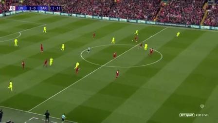 欧冠精华(半决赛次回合)利物浦vs巴萨,神奇的安菲尔德之夜