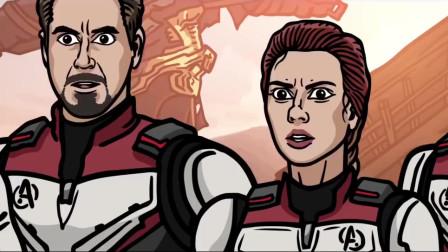 国外大神做了一期《复联4》的恶搞视频,太爆笑