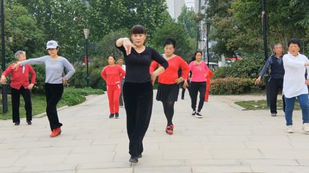 小神曲《干就完了》广场舞,减肥健身,缓解颈间腰腿疼快来跳吧!