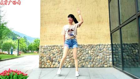 无基础好学广场舞我就是这么可爱DJ 麦芽学跳阿真老师的舞蹈
