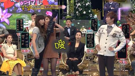 宋茜在韩综强心脏大秀软骨功,让众人惊讶,暴击整个现场!