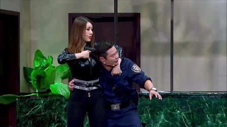 """魏翔逼着劫匪当人质,当""""大胸""""美女搂住的那刻,队员眼都直了!"""