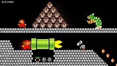 超级马里奥超搞笑动画, 当马里奥变身吃豆人