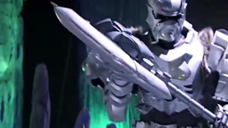 幽冥魔偷走了地虎侠的变身器, 雪獒侠及时赶到抢