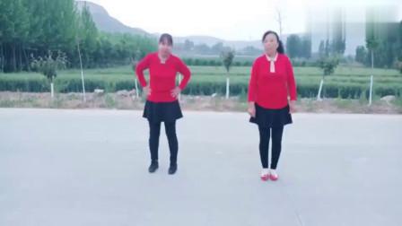 健康舞步《重庆叶子广场舞爷们别说累(附背面演示)》