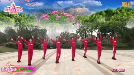 陆川叶青广场舞《九妹》简单易学适合大众学跳