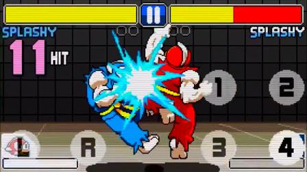 恶搞格斗游戏《Flappy Fighter》新角色连续技演示
