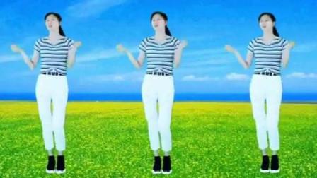 广场舞《黄花菜都凉了》歌曲好听舞蹈优美,时尚又好看