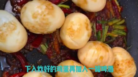 美食主播李超秀教你青椒里装肉炸出美味和麻辣虎皮鸡蛋