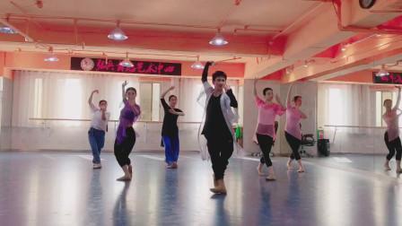 古典舞视频大全夜雨双唱 身韵练习身心并用 内外统一民族舞视频