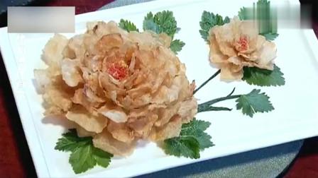 美食:外国美食家点了道牡丹鱼片,大厨们不会做,厨师长轻松搞定