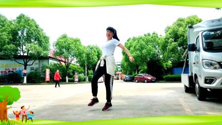 点击观看《初级入门好学舞蹈雨中慢摇DJ版 麦芽广场舞教程》