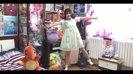 超可爱的妹子家中日常跳舞,网友:这该死的魔性,走不出去了