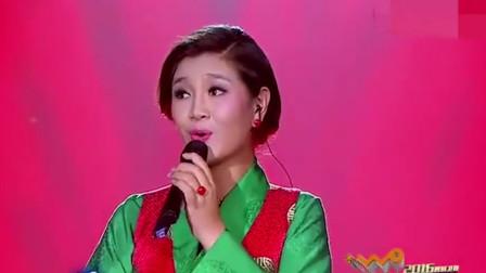 绝了,降央卓玛一袭华服惊艳全场,刀郎的歌又被她唱的一炮而红