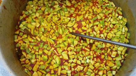 印度乡村美食:做美味咖喱瓜果